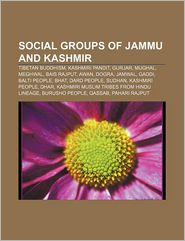 Social Groups Of Jammu And Kashmir - Books Llc