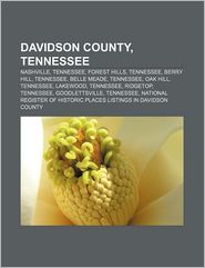 Davidson County, Tennessee - Books Llc