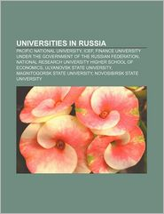 Universities In Russia - Books Llc