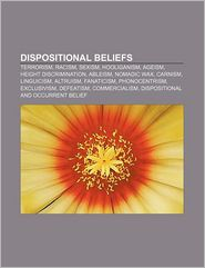 Dispositional Beliefs - Books Llc