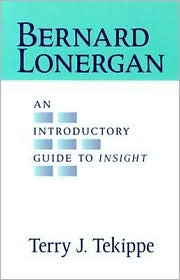 Bernard Lonergan: An Introductory Guide to Insight - Terry J. Tekippe
