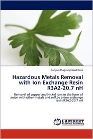 Hazardous Metals Removal with Ion Exchange Resin R3a2-20.7 NH - Gunjan Bhagvatiprasad Dave