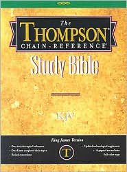 Thompson-Chain Reference Study Bible-KJV - Frank Charles Charles Thompson (Editor)