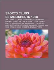 Sports Clubs Established In 1928 - Books Llc