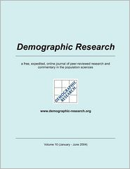 Demographic Research, Volume 10 - Max-Planck-Institute f r demograf. Fors (Editor)