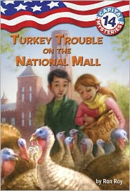 Turkey Trouble on the National Mall (Capital Mysteries Series #14) - Ron Roy, Timothy Bush (Illustrator)
