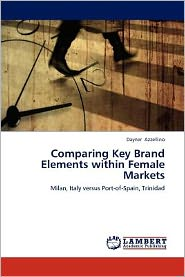 Comparing Key Brand Elements within Female Markets - Dayner Azzellino