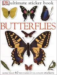 Butterflies (Ultimate Sticker Books Series) - DK Publishing