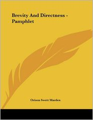Brevity and Directness - Pamphlet
