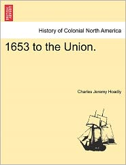 1653 To The Union. - Charles Jeremy Hoadly