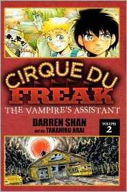 The Vampire's Assistant (Turtleback School & Library Binding Edition) - Darren Shan, Takahiro Arai (Illustrator)