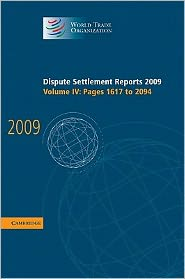 Dispute Settlement Reports 2009, Volume 4, Pages 1617-2094