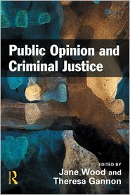 Public Opinion and Criminal Justice - Jane Wood (Editor), Theresa A. Gannon