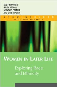 Women in Later Life - Haleh Afshar, Myfanwy Franks, Sharon Wray, Mary Ann Maynard