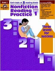 Nonfiction Reading Practice, Grade 1 - Evan-Moor Educational Publishers, Sandi Johnson (Editor)
