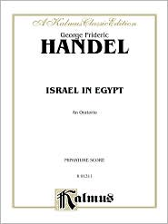 Israel in Egypt (1739): SATB or SSAATTBB with SSATBB Soli (Orch.) (Miniature Score) (German, English Language Edition), Miniature Score - George Frideric Handel
