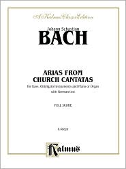 Bass Arias: 12 Arias (German Language Edition) - Johann Sebastian Bach