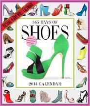 2014 365 Days of Shoes Picture-A-Day Wall Calendar - Workman