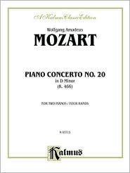 Piano Concerto No. 20 in D Minor, K. 466 - Wolfgang Amadeus Mozart