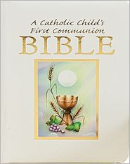 Catholic Childs 1st Communion Bible