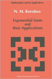 Exponential Sums and their Applications