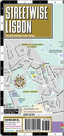 Streetwise Lisbon Map - Laminated City Center Street Map of Lisbon, Portugal - Folding Pocket Size Travel Map With Metro (2013)