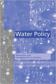 Water Policy - P. Howsam (Editor), R.C. Carter (Editor)