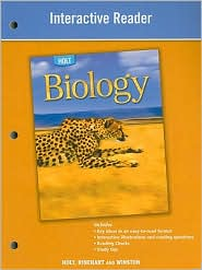 Holt Biology: Interactive Reader - Houghton Mifflin Harcourt
