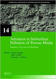 Advances in Subsurface Pollution of Porous Media: Indicators, Processes and Modelling - Lucila Candela (Editor), Francisco Javier Elorza (Editor), Inaki Vadillo (Editor)