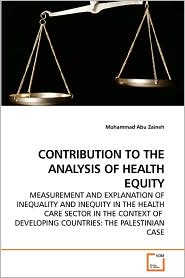 Contribution To The Analysis Of Health Equity - Mohammad Abu  Zaineh