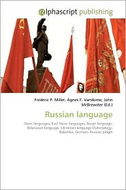 Russian Language - Frederic P. Miller