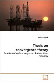 Thesis On Convergence Theory - MatjaP Novak
