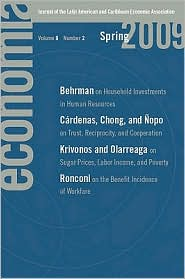 Economia: Spring 2009: Journal of the Latin American and Caribbean Economic Association - Roberto Rigob?n (Editor)