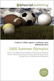 2000 Summer Olympics - Frederic P. Miller