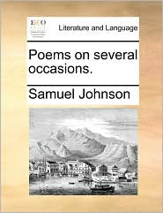 Poems on several occasions. - Samuel Johnson