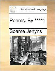 Poems. By *****. - Soame Jenyns