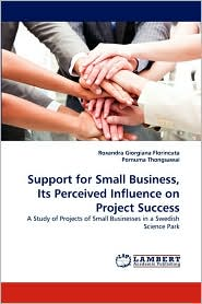 Support for Small Business, Its Perceived Influence on Project Success