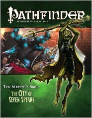 Pathfinder Adventure Path #39: The City of Seven Spears (Serpent's Skull 3 of 6) - Paizo Staff (Editor), Kevin Kulp