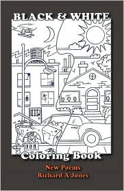 Black and White Coloring Book - Richard A Jones