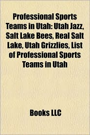 Professional sports teams in Utah: Professional baseball teams in Utah, Utah Stars, Utah Jazz, Salt Lake Bees, Real Salt Lake - Source: Wikipedia