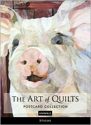The Art of Quilts Postcard Collection-Animals - C & T Publishing