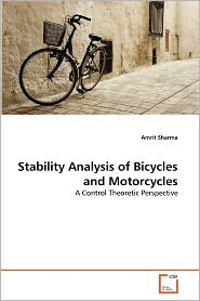 Stability Analysis of Bicycles and Motorcycles - Amrit Sharma