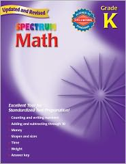 Spectrum Math, Kindergarten - School Specialty Publishing