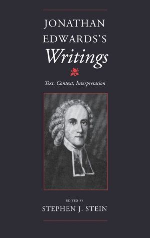 Jonathan Edwards's Writings - Stephen J. Stein (Editor)