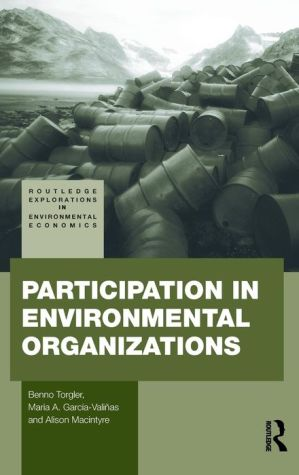 Participation in Environmental Organizations
