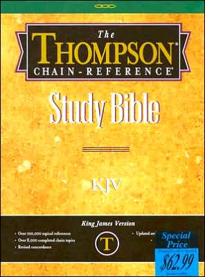 Thompson-Chain Reference Study Bible-KJV - B.B. Kirkbride Bible Company, Incorporated