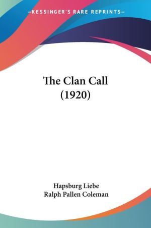 The Clan Call (1920)