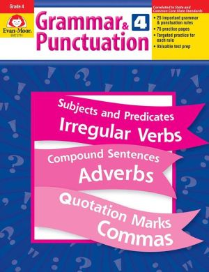 Grammar and Punctuation, Grade 4 - Evan-Moor Educational Publishers, Manufactured by Evan-Moor Educational Publishing