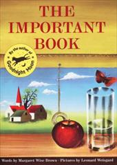 The Important Book - Brown, Margaret Wise / Weisgard, Leonard