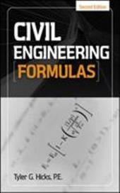 Civil Engineering Formulas - Hicks, Tyler G.